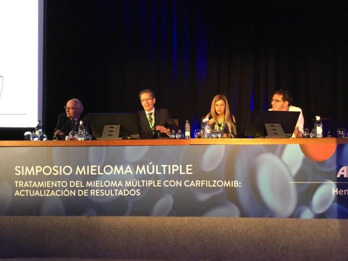 Tratamiento del Mieloma Múltiple  con Carfilzomib (actualizaciónresultados).